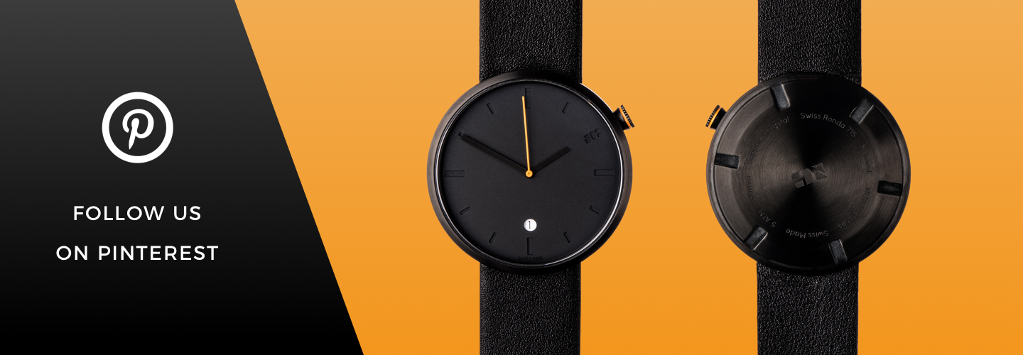 Minimal Swiss Watch